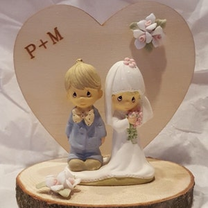 precious moments rustic wedding cake topper precious moments rustic wedding cake topper 104318 18713