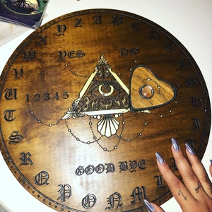 how to make a ouija board eye