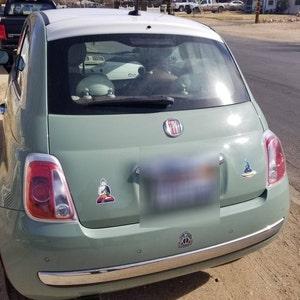 Holographic Sticker Alien Buddha Spaceship Hologram Vinyl