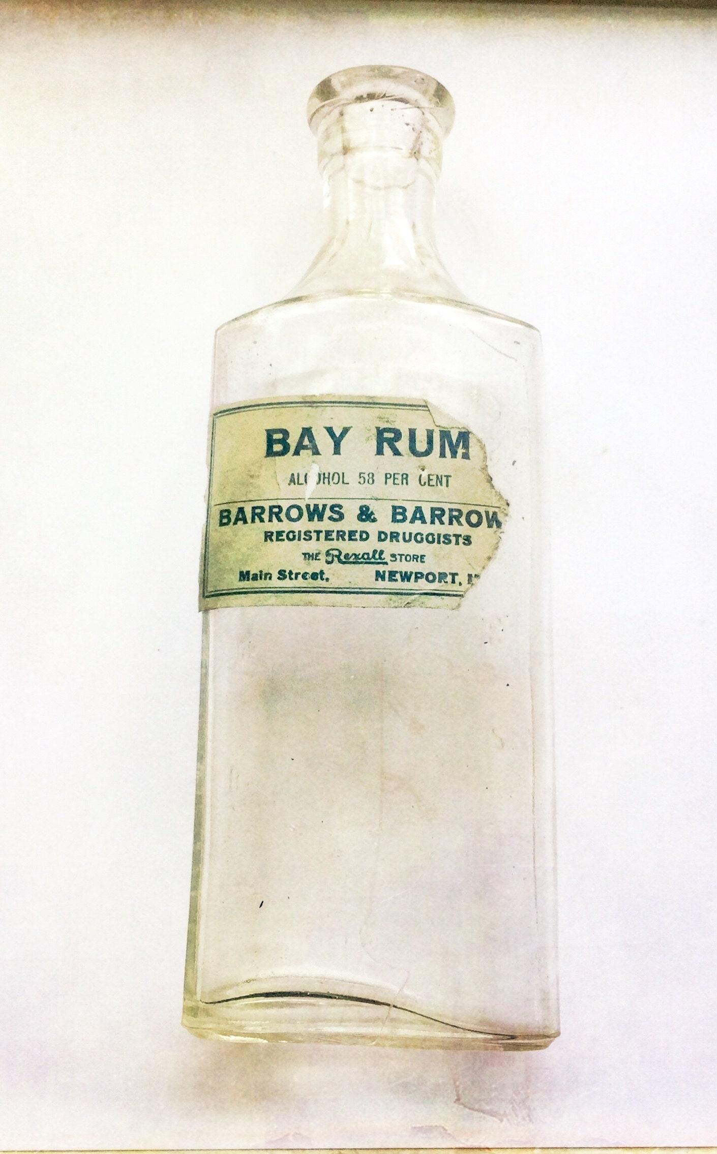 Newport Maine druggist bottle