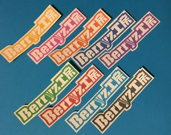Hello! Project Logo Stickers - Berryz Koubou