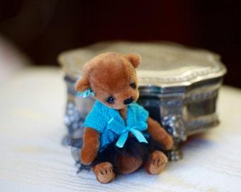 Artist Teddy bear stuffed animal stuffed toy bear collection toy artist bear stuffed teddy bear mini toy artist toy doll toy ooak teddy