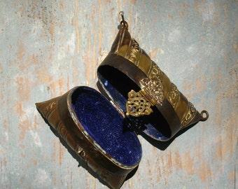 Antique french party purse. Aumonière 1900s