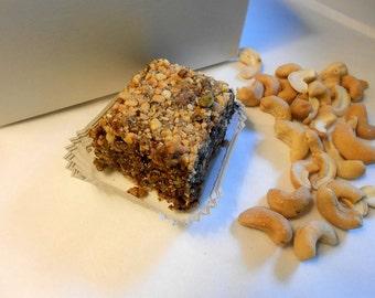 Wellness Gift Box, Cashews, Chocolate Snacks, Acai Bars, Vegan, Gluten Free, High AntiOxidants, Energy 12 Bars,