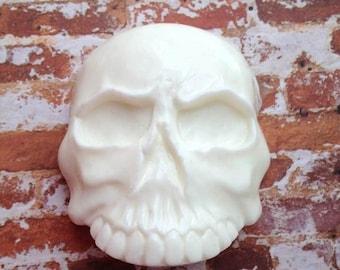 Skull Soap, Halloween Soap, Novelty Soap, Bath Soap, Goth Soap, You pick scent & color