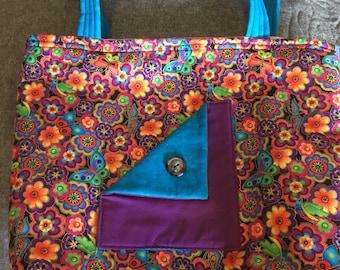 Bright floral bag