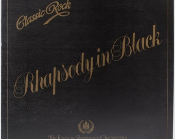 "The London Symphony Orchestra   ""Rhapsody In Black"""
