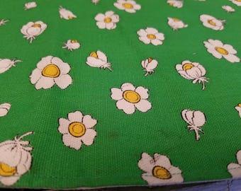 Vintage Green Floral Placemats