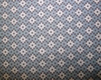 Fabric - Robert Kaufman- Elizabeth Hartman - Rhoda Ruth - Charcoal - cotton print.