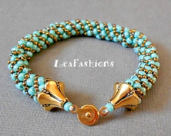 LeaFashion Handmade bracelet for women of class