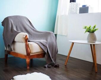 Throw Blanket, Woolen Blanket, Bed Cover, Bedding, Soft Wool, Stroller Blanket, Sofa Blanket, Throws, Wool Sofa Throw Wool Blanket Gift  #04