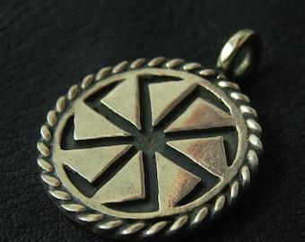 Bronze Kolovrat pendant