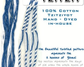 Tzitzit – Ephraim & Judah – 2 House – Messianic Style