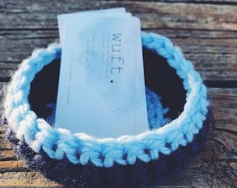 Crocheted Bowl || Crocheted basket