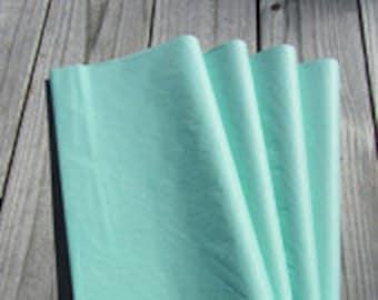 "Tissue Paper / 24 Sheets Cool Mint Tissue Paper 20""x30""/Mint Shower/Mint Wedding Decor"