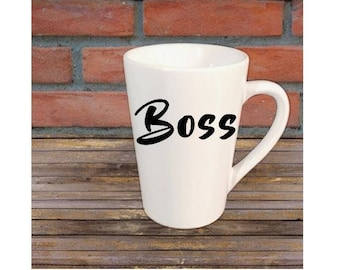Boss Business Owner Mug Coffee Cup Gift Home Decor Gift for Her Him Any Color Personalized Custom Jenuine Crafts