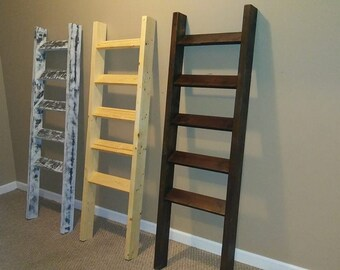 Farmhouse Natural Stain Ladder