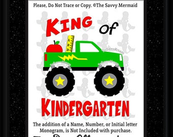 First day of School SVG file- Kindergarten SVG file- Kindergarten DXF Cut file- Boy School Svg- Iron on shirt Svg- Cricut School- Silhouette