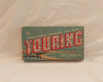 1958 Parker Brothers Touring Automobile Card Game