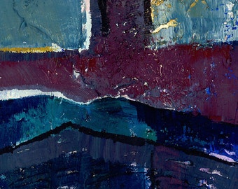 Abstraction 701 ...  Original Contemporary Modern Abstract oil art painting by Kathy Morton Stanion ... EBSQ