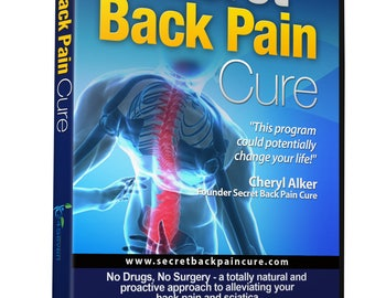 Back Pain Relief DVD By 24Seven Wellness Natural Prevention of Lower, Upper, Neck and Sciatic Pain. A Yoga and Pilates Based Stretch Program