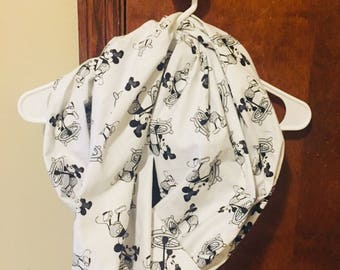 Steamboat Mouse infinity scarf