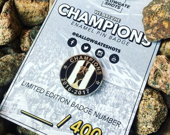 Champions Pin Badge