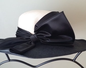Vintage Breakfast at Tiffany's Style Hat by Mr. Charles