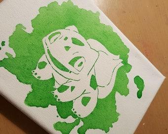 Bulbasaur Canvas - 5x7