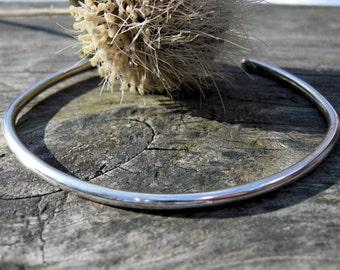 Sterling silver cuff bracelet / silver cuff / gift for her / stacking cuff / sterling bracelet / sterling cuff / boho cuff / jewelry sale
