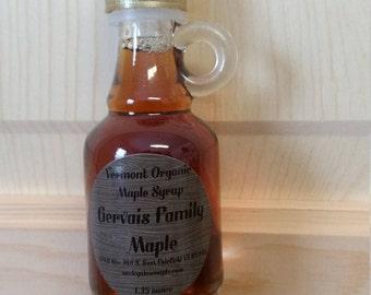 lot of 24 - 1.35 oz nip Vermont organic maple syrup medium amber