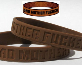 Bad Mother Fu*ker Wristband Pulp Fiction Quentin Tarantino Samuel Jackson TW023