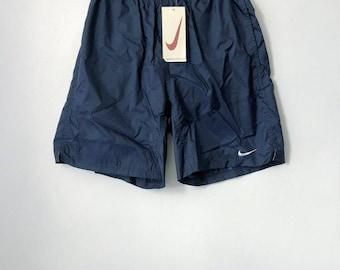 vintage nike black tag swim trunks mens size medium deadstock NWT 90s