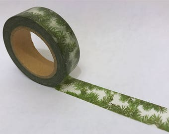 Washi Tape/ Craft Tape- Pine Needles