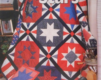 Galaxy of Stars Quilt Book by  House of White Birches, 10 projects