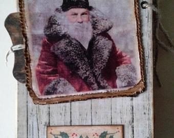 Junk Journal ' Santa '