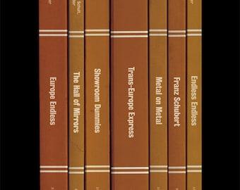 Kraftwerk 'Trans-Europe Express' Album As Books Poster Print