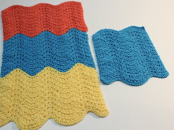 Knit Patterns For Dishcloths Knitted Dish Towel Pattern