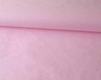 Set of 5 Pastel pink tissue paper size 50 cm * 75 cm
