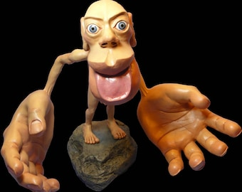 Sensory Homunculus Statue
