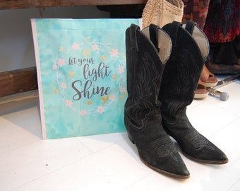 Vintage Cowboy Boots - Two Colors Available