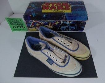 1977 Clark's StarWars Shoes/Box/Original bag