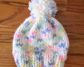 Handmade Knitted Premmie Hat