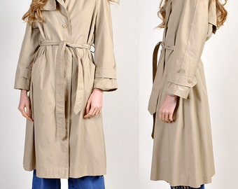 vintage DIANE VON FURSTENBERG trench coat                                 H14