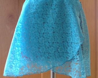 Pull on Lace Ballet Skirt Left Wrap - Variety of Sizes