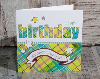Greetings Card Another Year Oot Birthday
