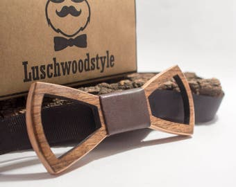 wooden bow tie, wood bow tie,wooden bowtie Men's wooden accessories, handmade,Tie Accessories, 100% handmade, handmade wood bow tie