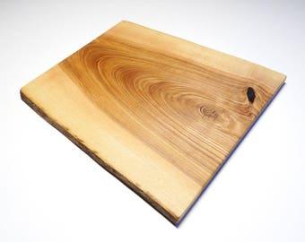 Ash wood cutting board, rustic cheese board, christmas gift, cutting board, rustic decor (015)