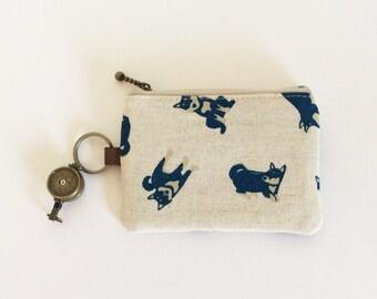 Travel pass case (Shiba-inu natural)