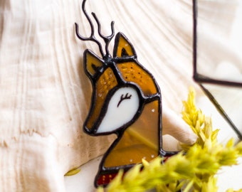 brooch Deer stag animal brooch deer accessory pin jewelry fawn badge bambi brooch cute brooch deer jewellery